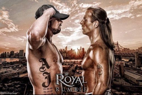 Shawn Michaels & AJ Styles