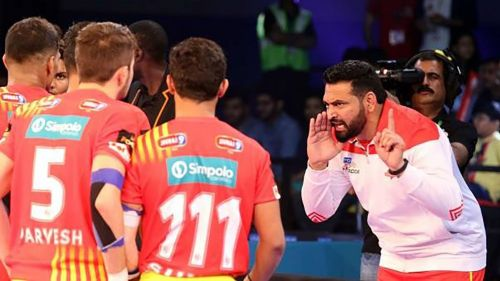 Manpreet Singh, the coach of Gujarat Fortunegiants