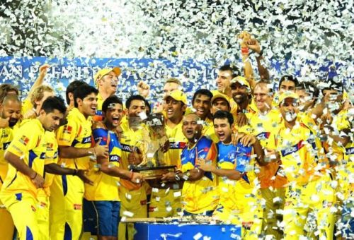 CSK made their way back to the league in