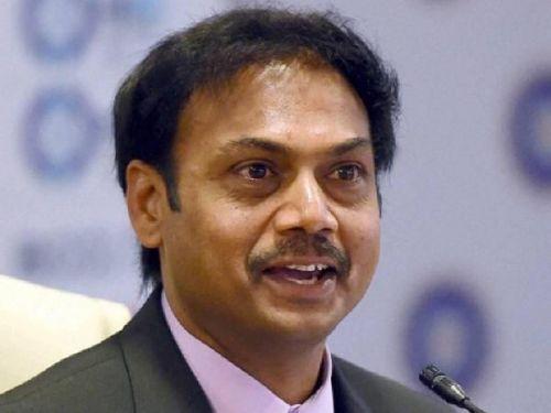 India's chief selector, MSK Prasad
