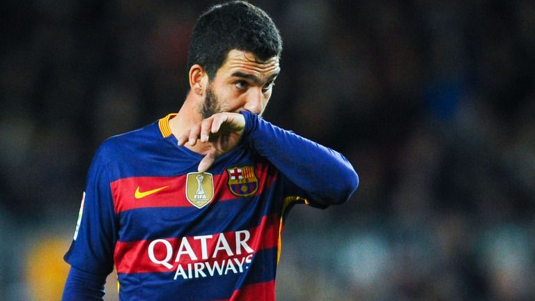 As a Barcelona player, Turan never managed to recreate his past performances
