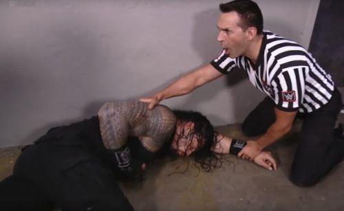 Reigns found beaten backstage