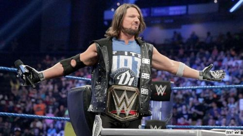 AJ Styles is the WWE Champion