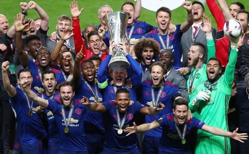 United won the Europa League in Mou's first season