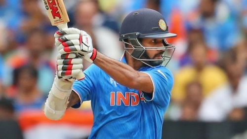 Dhawan is in the form of his life