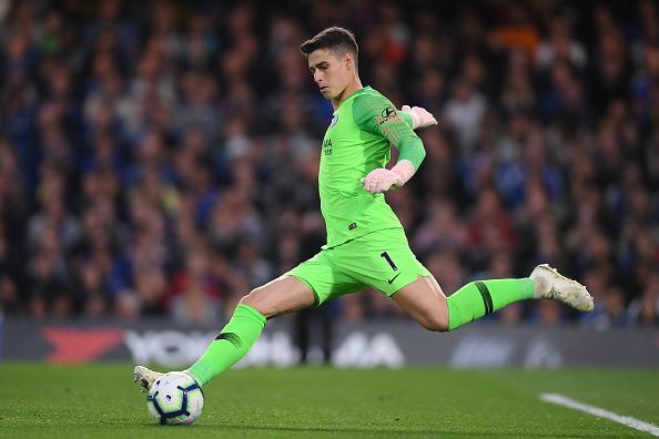 Kepa Arrizabalaga will be a definite starter for The Blues