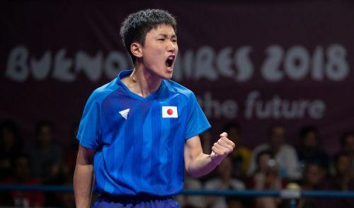 Silver medalist Tomokazu Harimoto of Japan (Image Courtesy: IOC)