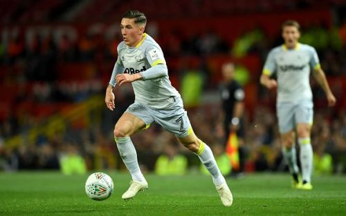 Harry Wilson has been in fantastic form for Derby County and Wales this season