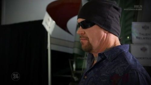 A capture from an episode of WWE 24