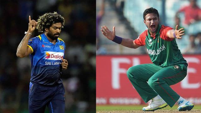 Lasith Malinga and Shakib Al Hasan are amongst the top 5 wicket-takers