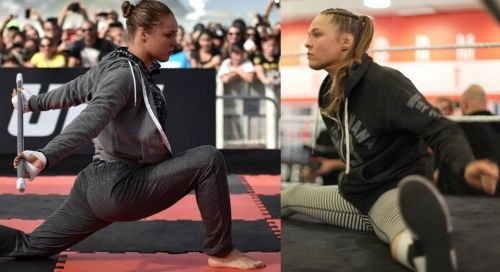 Ronda Rousey is regarded as one of the deadliest female fighters of all time