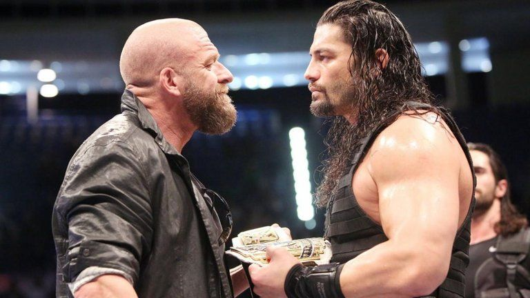 Triple H has revealed why Roman Reigns didn't reveal his leukaemia battle  sooner