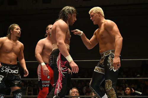 Cody Rhodes and Kenny Omega
