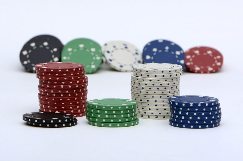 Poker Chips Aufteilung
