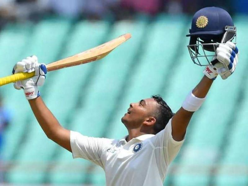 Prithvi Shaw and KL Rahul won the match for India