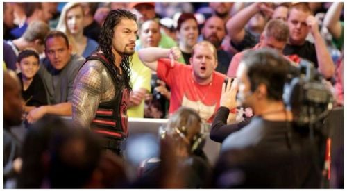 Roman Reigns isn't always a popular man