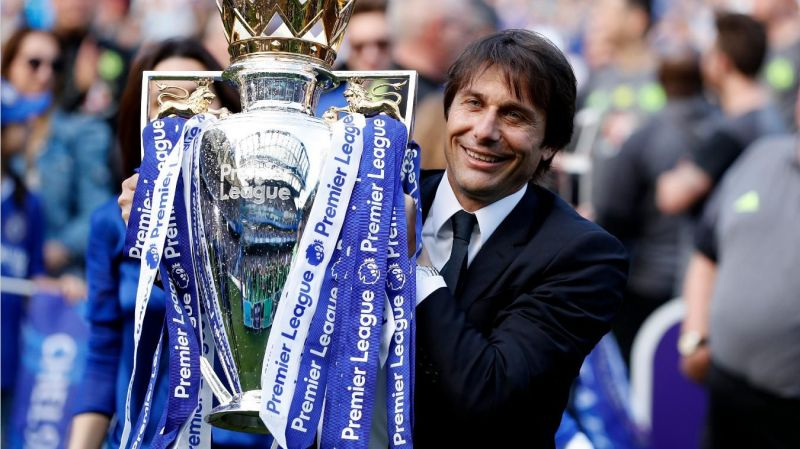 Chelsea reached the FA Cup final in both of Conte