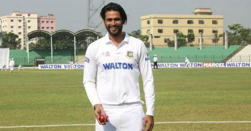 Shahadat Hossain took eight wickets in the match and help Dhaka to win over Chittagong