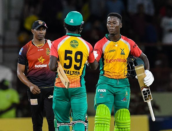 Guyana Amazon Warriors v Trinbago Knight Riders - 2018 Hero Caribbean Premier League (CPL) Tournament