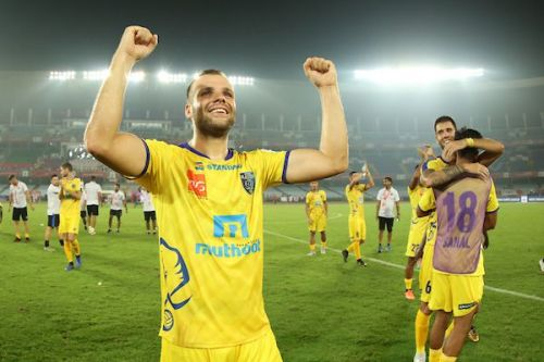 Poplatnik would be rearing to get on the pitch again as the Blasters face Delhi Dynamos (Image Courtesy: ISL)