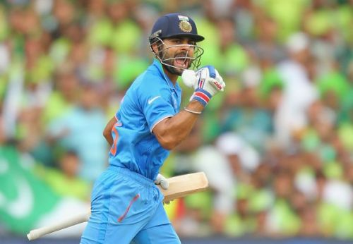 Kohli will be the first name to be put on paper