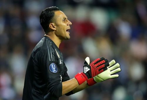 Navas has lost his place to Courtois