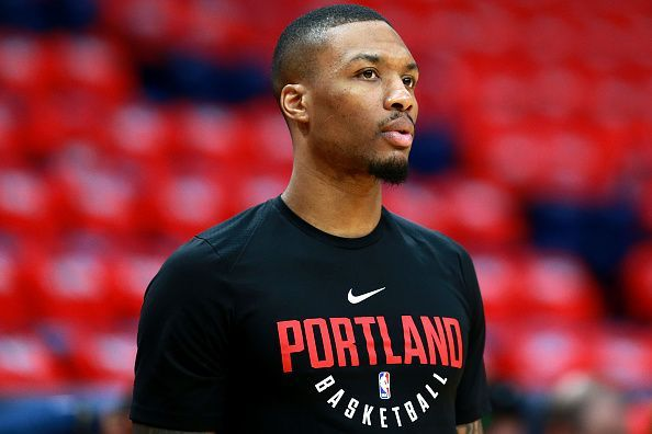 41003ec0bf6 Damian Lillard is set to start his 7th NBA year with the Trail Blazers, but