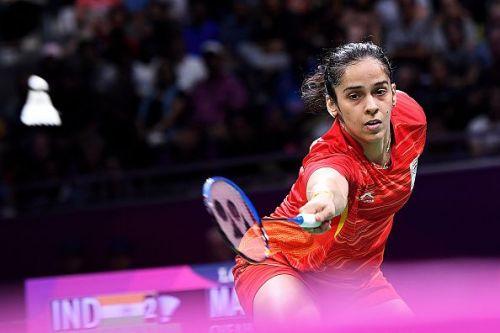Saina Nehwal could not convert three game points