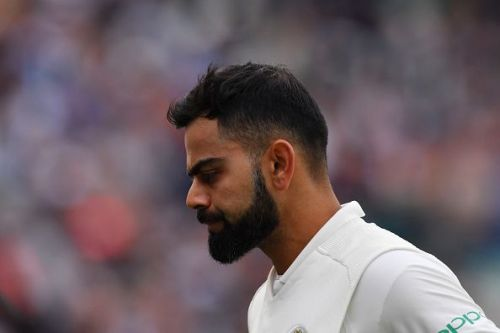 Captain Kohli was let down by his bowlers in the second half of the day