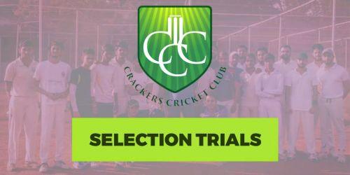 Crackers Cricket Club - Selection Trials