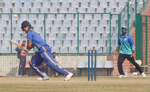 Rana scored a century in Delhi's win