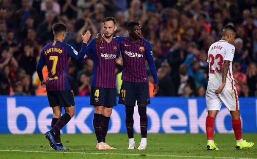 Barcelona won a pulsating game