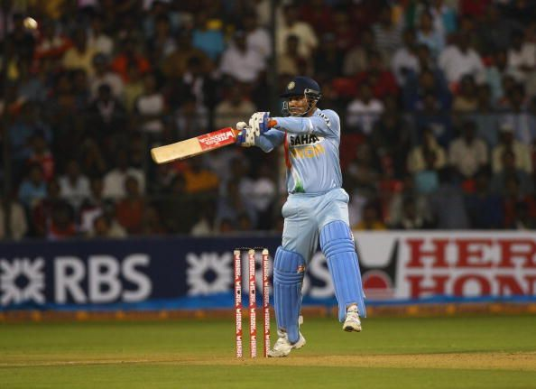 Virender Sehwag rattled the West Indies
