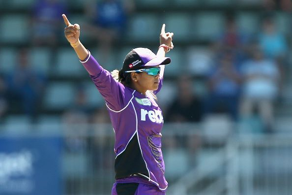 Krishnamurthy enjoyed her run in Australia