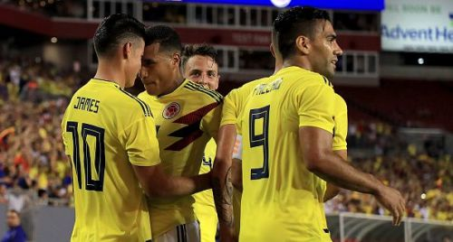 Colombia beat the United States of America in a thrilling 2-4 international friendly match