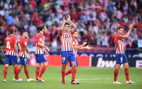 Atletico Madrid recovered from the poor start of the season and gradually rose in LaLiga standings