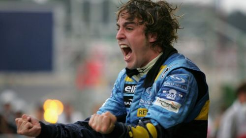 Back when it was the good times for Alonso