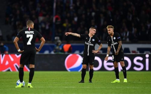 Paris Saint-Germain needed an injury-time equalizer to draw with Napoli