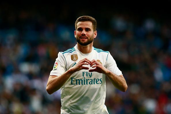 Nacho recently broke into the Spanish first team