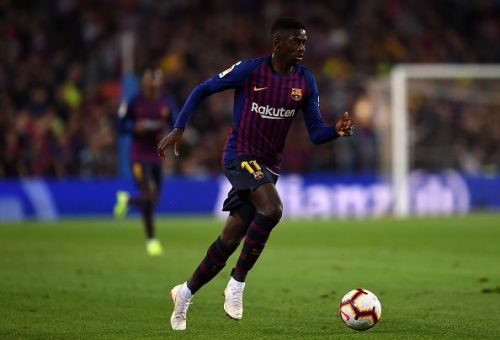 Dembele has the advantage of already being a Barcelona player
