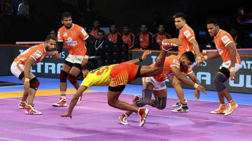 Sandeep Narwal played just two of the six home games