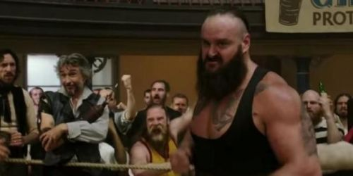 Braun Strowman recently appeared in Holmes and Watson
