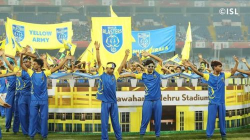 The Yellow Army: Kerala Blasters FC