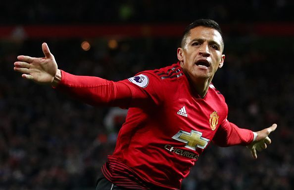 Alexis Sanchez has failed to live up to the expectations
