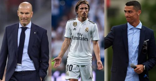 Luka Modric says he didn't expect Zinedine Zidane or Cristiano Ronaldo to leave Real Madrid!