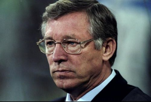 Portrait of Alex Ferguson