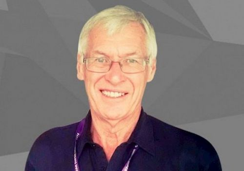 Sports commentator John Helm (Image: ISL)