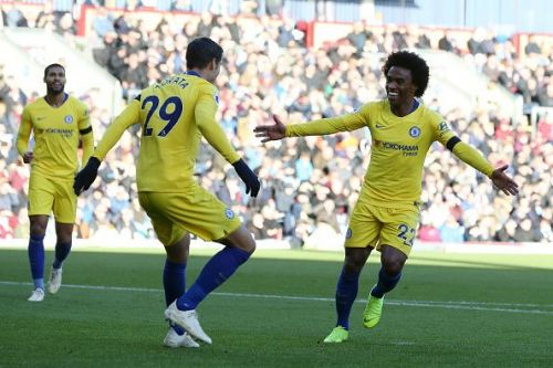 Willian was again on the scoresheet at the weekend