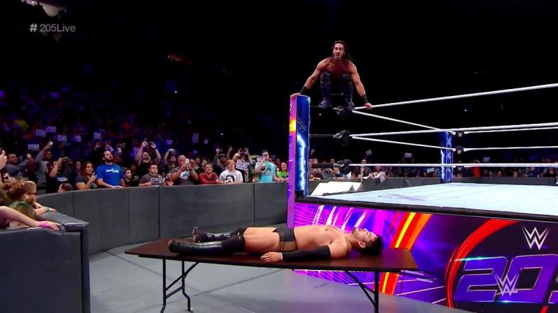 The Heart of 205 Live looked to put Hideo Itami in the rearview mirror on 205 Live