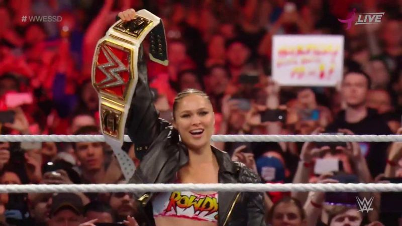 Did you notice the tension between Rousey and Bella at the event?